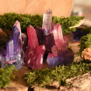 Orgonite in kristalvorm