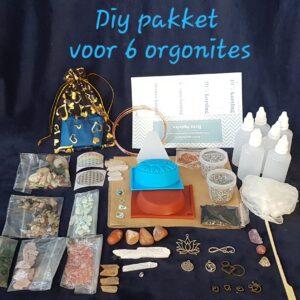 DIY benodigdheden voor orgonites