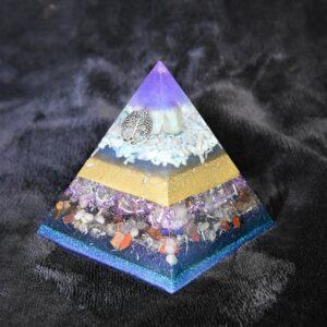8 tot 17 cm Orgonite piramide