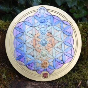 (001) Heilige Geometrie orgonites