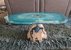 Geode (orgonite) salon tafels